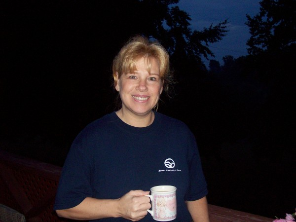debbie at defeated creek campground