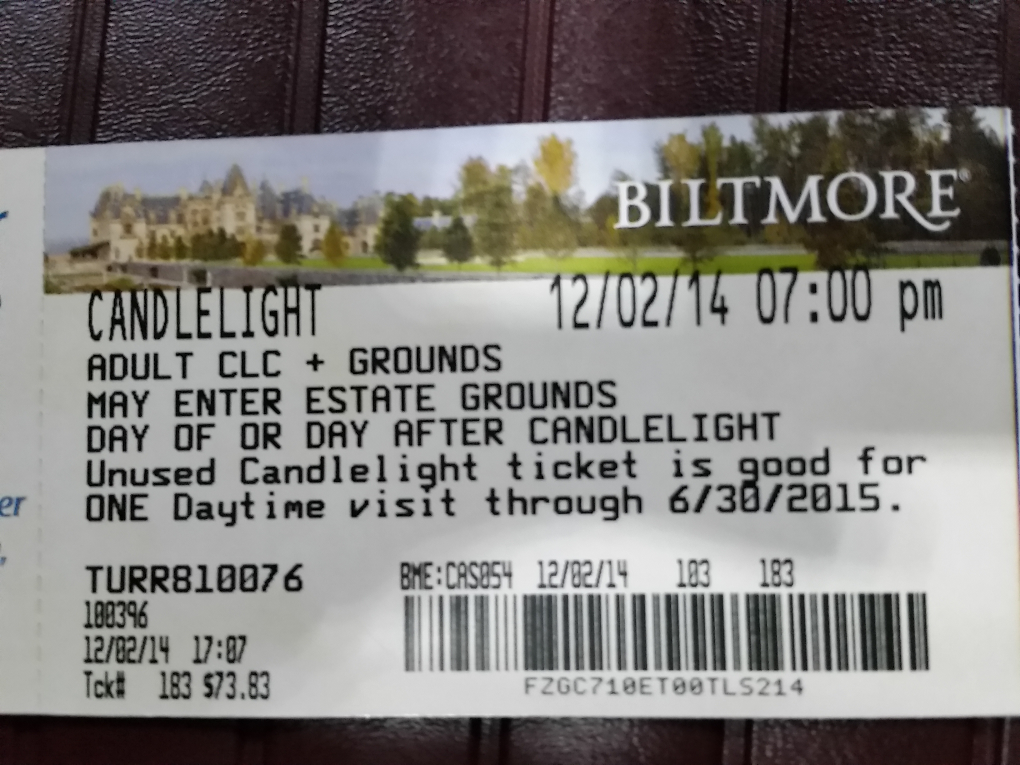 Biltmore Estate Tour Tickets