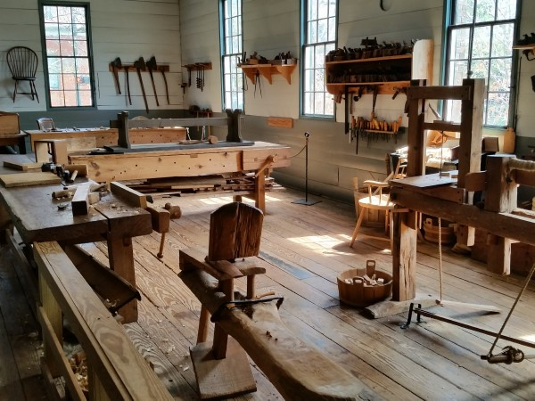 600x400Alabama Constitution Village carpenter shop