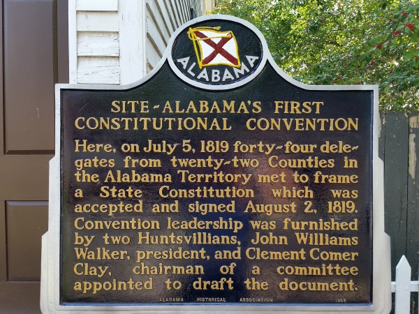 600x450 Alabama Constitution Village Historic Marker