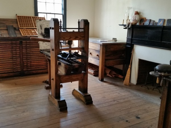 600x450 Alabama Constitution Village printer