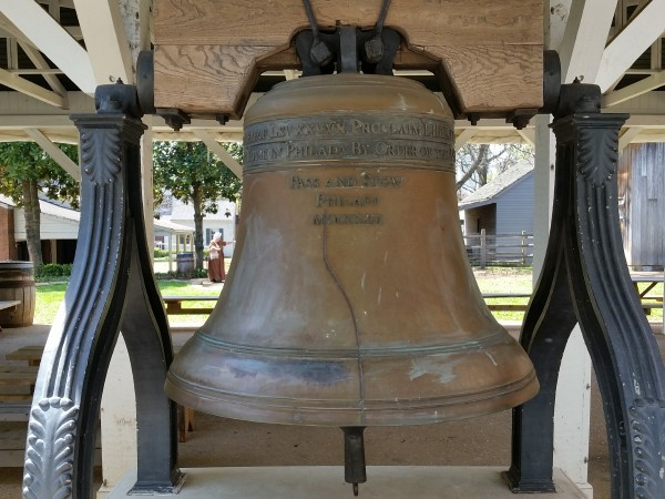 600x450Alabama Constitution Village liberty bell